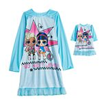 Girls 4-10 L.O.L. Surprise! 2-Piece So Next Level Nightgown with Matching Doll Nightgown