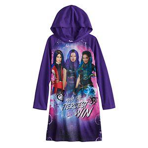 Disney's Descendants Girls 6-14 Fiercest Hooded Dorm Nightgown