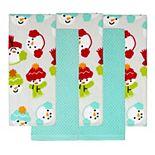 St. Nicholas Square® Snowman Toss Kitchen Towel 5-pk.