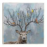 Fine Art Canvas Nearest & Dearest Deer Framed Canvas Wall Art