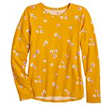 Girls 4-20 & Plus Size SO® Favorite Long Sleeve Tee