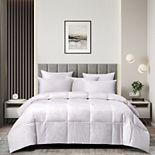 Kathy Ireland White Goose Feather Comforter - Extra Warmth