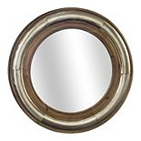 E2 Round Framed Wall Mirror