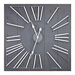E2 Oversized Shiplap Wall Clock