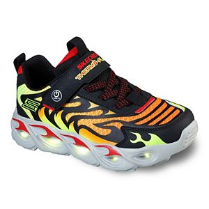 Skechers S Lights Thermo-Flash Boys' Light Up Shoes