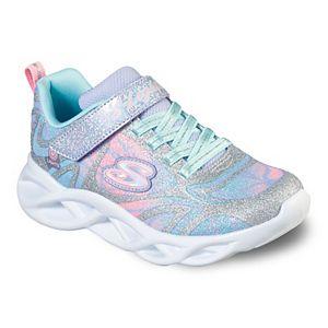 Skechers Twisty Brights Dazzle Flash Girls' Light Up Shoes