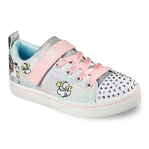 Skechers Twinkle Toes Unicorn Girls' Light Up Shoes