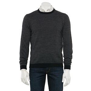 Men's Apt. 9® Regular-Fit Merino Wool-Blend Crewneck Sweater