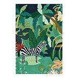 Fine Art Canvas Tropical Equus Wall Art