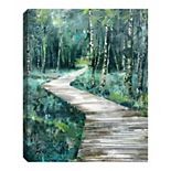 Fine Art Canvas Le Sentier Wall Art