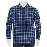 Big & Tall Sonoma Goods For Life® Plaid Flannel Button-Down Shirt