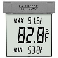 La Crosse Technology Window Thermometer