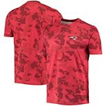 Men's MSX by Michael Strahan Red New England Patriots Camo Printed T-Shirt