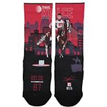 Youth Strideline Travis Kelce Kansas City Chiefs Superhero Socks
