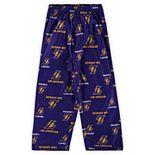 Toddler Gold Los Angeles Lakers Team Color Printed Pajama Pants