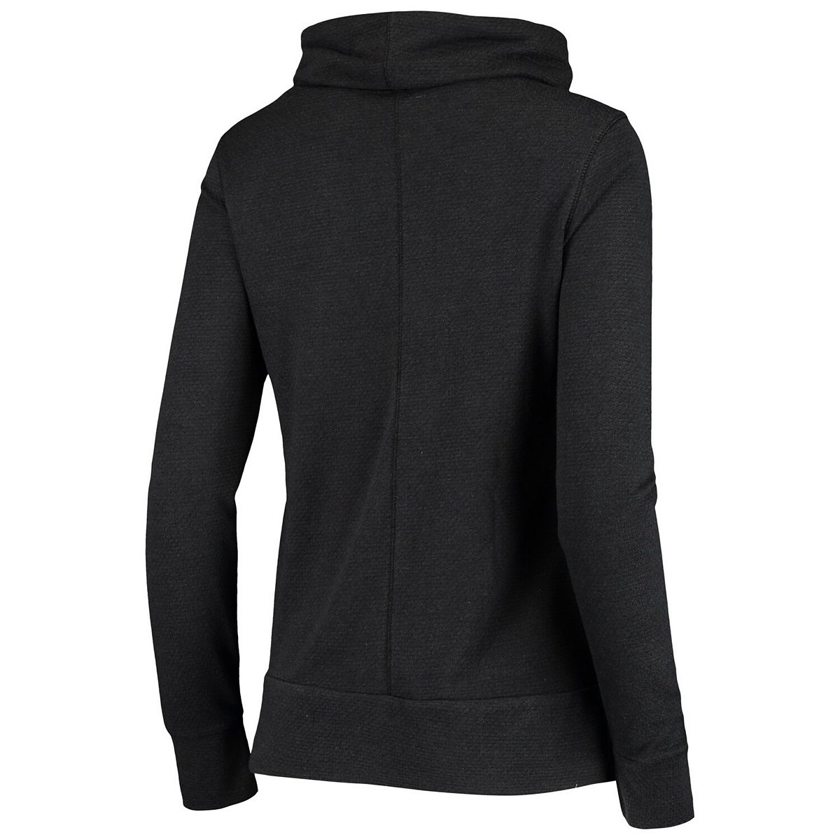 Women's Antigua Black Minnesota United FC Caliber Sweatshirt 6a2R8