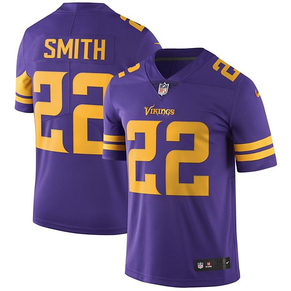 Men's Nike Harrison Smith Purple Minnesota Vikings Vapor Untouchable Color Rush Limited Player Jersey