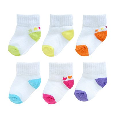 SONOMA life + style 6-pk. Cushion 1/4-Crew Socks