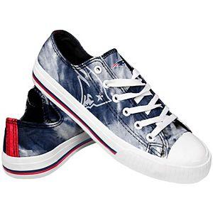 Women's New England Patriots Tie-Dye Canvas Shoe