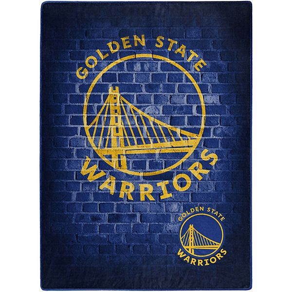 The Northwest Golden State Warriors 60 X 80 Street Raschel Plush Throw Blanket