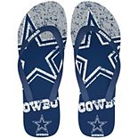 Dallas Cowboys Big Logo Flip Flop Sandals