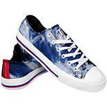 Women's Texas Rangers Tie-Dye Canvas Shoe
