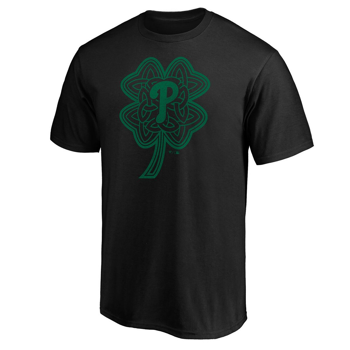 Men's Fanatics Branded Black Philadelphia Phillies Celtic Charm T-Shirt BVXcN