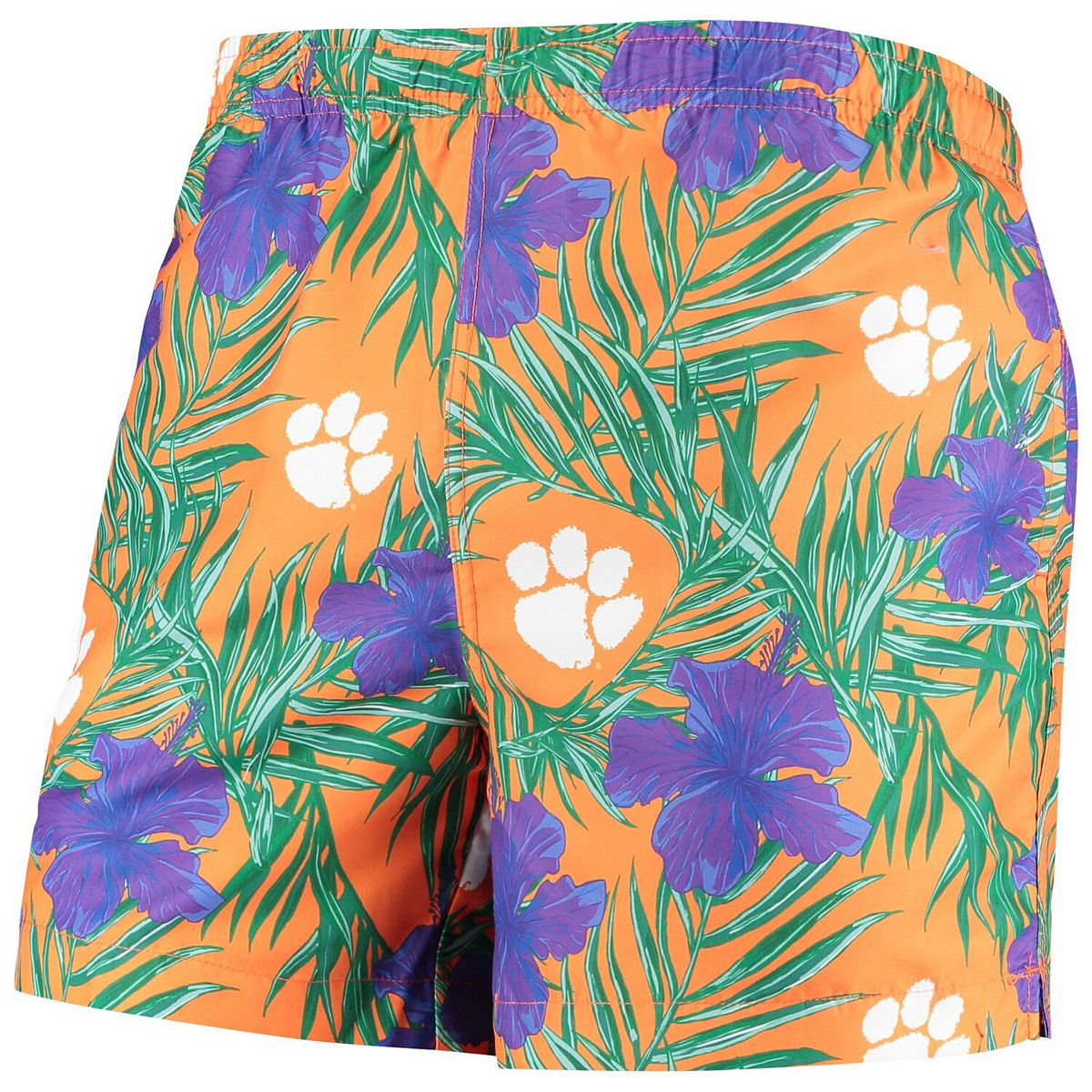 Men's Orange Clemson Tigers Swimming Trunks xNta9