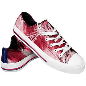 Women's Los Angeles Angels Tie-Dye Canvas Shoe
