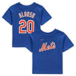Infant Nike Pete Alonso Royal New York Mets Player Name & Number T-Shirt