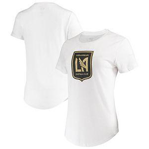Women's Concepts Sport White LAFC Cloud T-Shirt