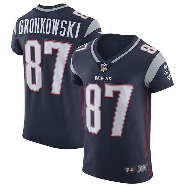 Men's Nike Rob Gronkowski Navy New England Patriots Alternate Vapor Untouchable Elite Jersey