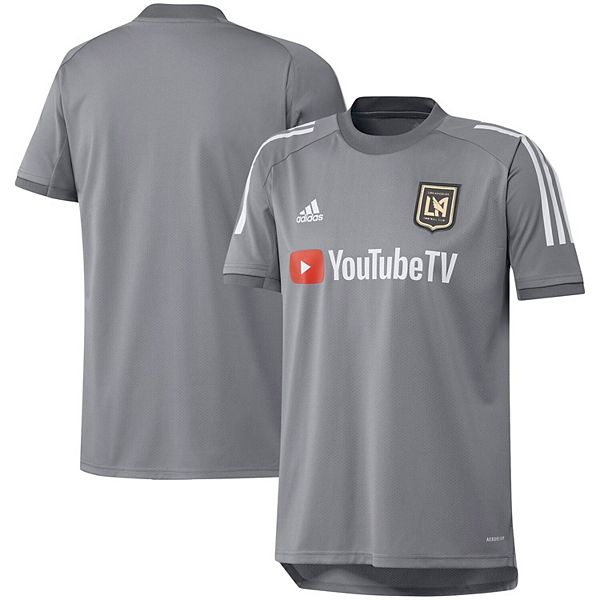 Men's adidas Gray LAFC 2020 On-Field Training Jersey