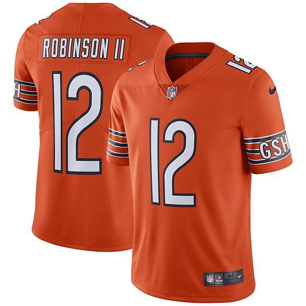 Men's Nike Allen Robinson Orange Chicago Bears Team Color Vapor Untouchable Limited Jersey