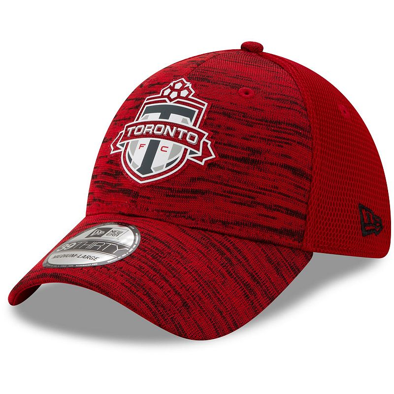 Men's New Era Red Toronto FC On-Field Collection 39THIRTY Flex Hat, Size: Medium/Large