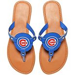 Women's Chicago Cubs Die-Cut Logo Flip Flops