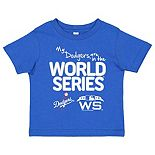 Toddler Soft as a Grape Royal Los Angeles Dodgers 2018 World Series Bound T-Shirt