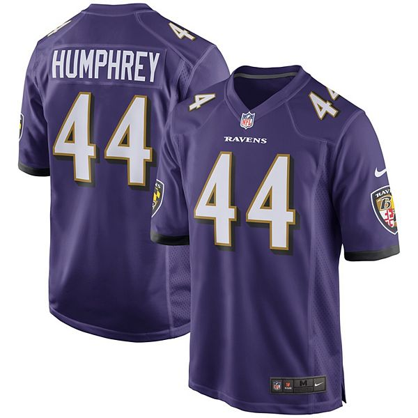 Men's Nike Marlon Humphrey Purple Baltimore Ravens Player Game Jersey