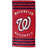 "The Northwest Washington Nationals 30"" x 60"" Striped Beach Towel"