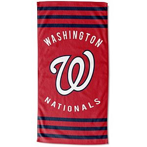 "The Northwest Company Washington Nationals 30"" x 60"" Striped Beach Towel"