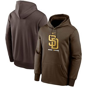 Men's Nike Brown San Diego Padres Legacy Performance Pullover Hoodie