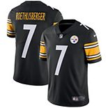 Men's Nike Ben Roethlisberger Black Pittsburgh Steelers Vapor Untouchable Limited Player Jersey