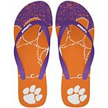 Clemson Tigers Big Logo Flip Flop Sandals