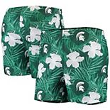 Men's Green Michigan State Spartans Swimming Trunks