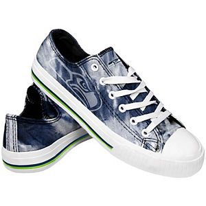 Women's Seattle Seahawks Tie-Dye Canvas Shoe