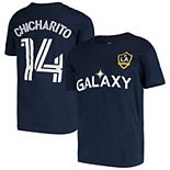 Youth Chicharito Navy LA Galaxy Player Name & Number T-Shirt