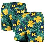 Men's Navy Michigan Wolverines Swimming Trunks