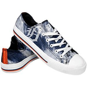 Women's Detroit Tigers Tie-Dye Canvas Shoe