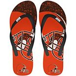 Cleveland Browns Big Logo Flip Flop Sandals