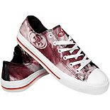 Women's San Francisco 49ers Tie-Dye Canvas Shoe